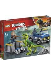 Lego Juniors LKW von Rettung des Raptor 10757