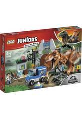 Lego Juniors L'evasione del T. Rex 10758