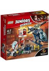 Lego Juniors Los Incríbles 2 Persecución por los Tejados de Elastigirl 10759