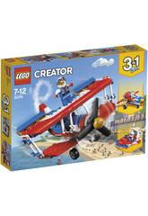 Lego Creator Audaz Avión Acrobático 31076