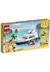 Lego Creator Abenteuer auf der Yacht 31083