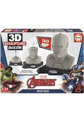 Puzzle 3D Sculpture Iron Man Educa 16884