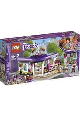 Lego Friends Café da Art of Emma 41336
