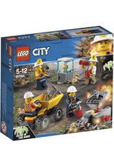 Lego City Mina Equipo 60184