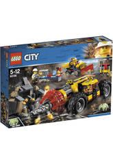 Lego City Mina Perforadora Pesada 60186
