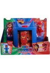 Playset Transformation PJ Masks Bandai 24710