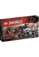 Lego Ninjago Carrera Callejera del Jaguar Serpiente 70639