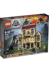 Lego Jurassic World Attacco dell'Indoraptor al Lockwood Estate 75930