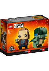 LEGO Jurassic World Owen and Blue 41614