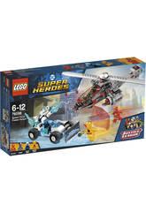 Lego Super Héroes Persecución Gélida tras la Fuerza de la Velocidad 76098
