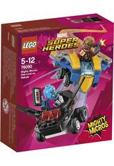 Lego Super Heroes Mighty Micros: Star-Lord contro Nebula 76090