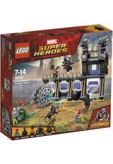 Lego Super Heroes L'attacco falciante di Corvus Glaive 76103