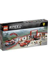 Lego Speed Champions Werkstatt Definitiv von Ferrari 75889