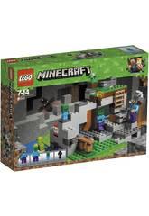 Lego Minecraft La Grotte des Zombies 21141