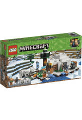 Lego Minecraft L'igloo Polarre 21142