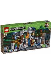 Lego Minecraft Las Aventuras Subterraneas 21147