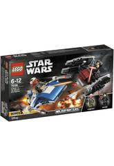 Lego Star Wars Microfighter Ala A vs. Silenciador Tie 75196