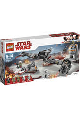 Lego Star Wars Défense de Crait 75202