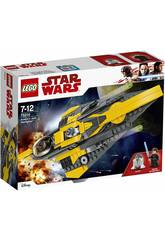 Lego Star Wars Caza estelar Jedi de Anakin 75214