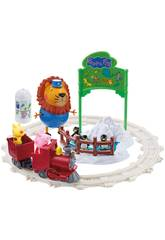 Playset Peppa En El Zoo Bandai 6698