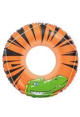 Flotador Hinchable River Gator 119 cm. Bestway 36108