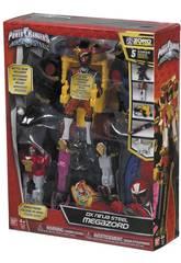 Power Rangers Megazord Ninja Aço Bandai 43595