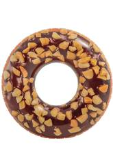 Flotador Hinchable Donut Chocolate de 114 cm. Intex 56262