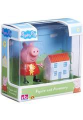 Peppa Pig Figura avec des accaesoiresBandai 06381