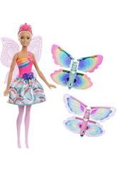 Barbie Alas Mágicas Rubia Mattel FRB08
