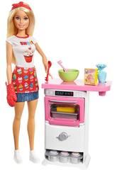 Barbie y Su Pastelería Mattel FHP57