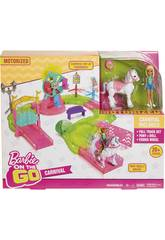 Barbie On The Go Parc De Atractions Mattel FHV70