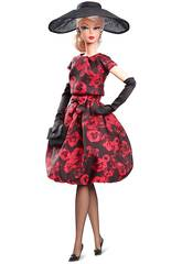 Barbie Colection Elegant Rose Cocktail Dress Mattel FJH77