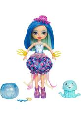 Enchantimals Muñeca Jessa Jellyfish Con Marisa Mattel FKV57