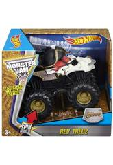 Hot Wheels Monster Jam Rev Tredz Veicolo Mattel CHV22
