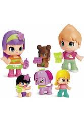 Pinypon Pacchetto Bebé e Personaggi Famosa Pack 6 700014086