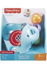 Fisher Price Roly Poly Mon éléphant à Balles Mattel FRC85
