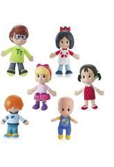 Familia Telerín Pack 6 Figuras Mattel FNJ33