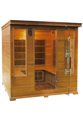 Sauna Infrarossi Luxe - 4/5 Posti