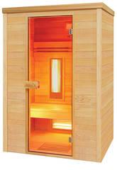 Sauna infravermelha Multiwave 2 lugares Poolstar HL-MW02-K