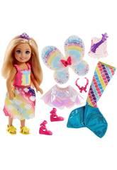 Barbie Dreamtopia Petite Sirène Magique Mattel FJC99