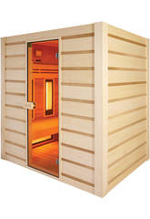 Sauna Hybrid -Infrarrojos y Tradicional- Poolstar HL-HC04-K