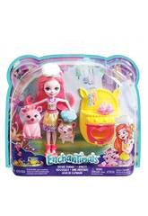 Enchantimals Amis Pâtissiers Mattel FJJ28