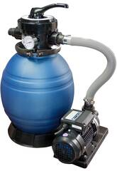 Pompa Monobloc 300 Filtro a Sabbia con Pompa da 0,25 hp QP 565090