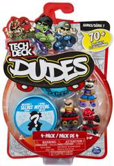 Tech Deck Dude 4PK Bizak 9883