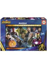 Puzzle 300 Avengers Infinity War Educa 17642