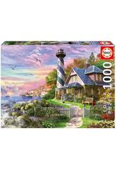 Puzzle 1000 Faro En Rock Bay Educa 17740