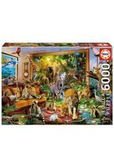 Puzzle 6000 Entrando En La Habitación Educa 17679