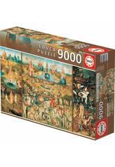 Puzzle 9.000 Il Giardino delle delize Educa 14831