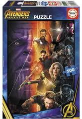 Puzzle 500 Avengers: Infinity War Educa 17680