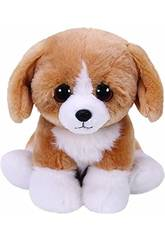 Pelúcia Franklin Brown Dog 15 cm. Ty 42269